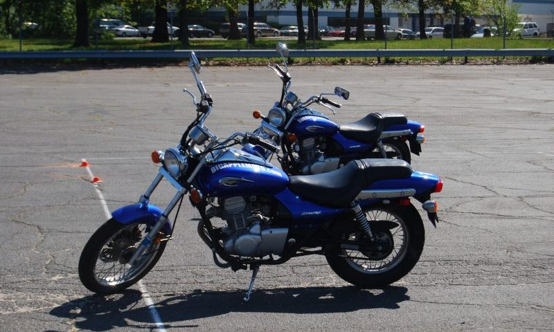 Some of our training motorcycles