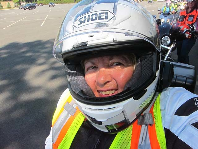 Big Apple Motorcycle School President Diane Ortiz will offer free new rider seminars