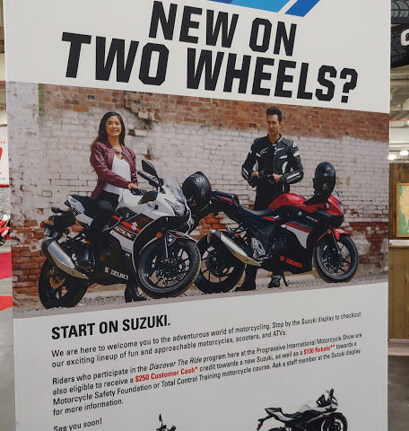 New on Two Wheels